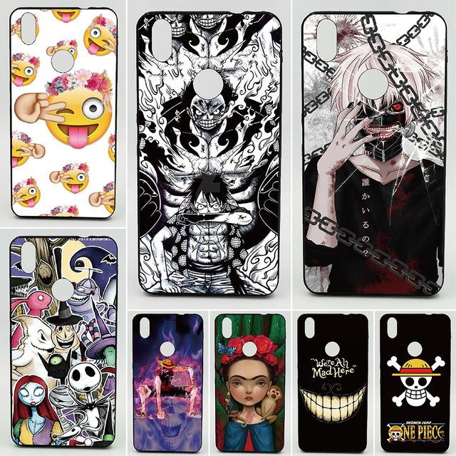 Tokyo Ghoul 2D Paiting Silicon Cover For BQ Aquaris X