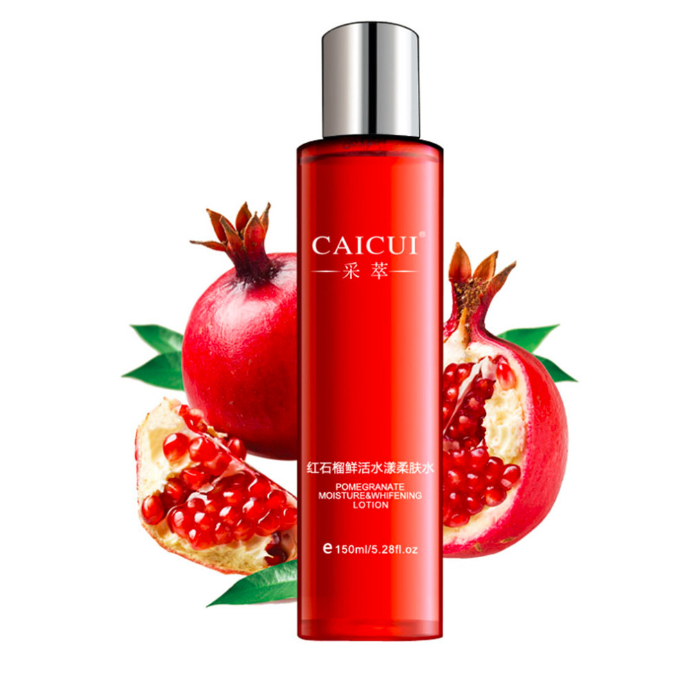 Red Pomegranate Cleanser Cream Lotion Smoothing Toner Skin Care Rorec Natural Beauty Set Moisturizing Freckle Dark Spot Remover In Treatments Masks From