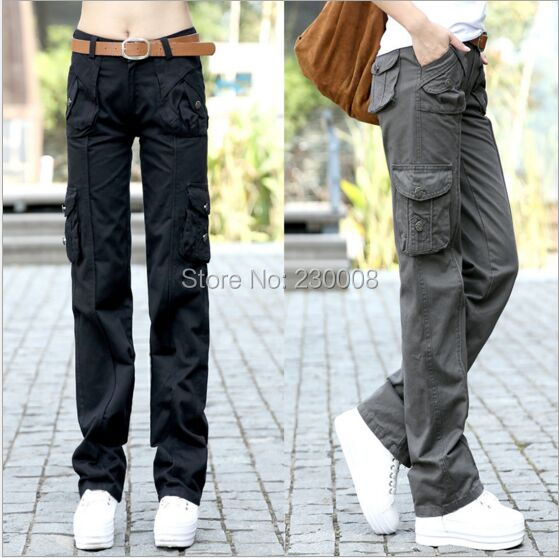 Popular Womens Khaki Cargo Pants-Buy Cheap Womens Khaki Cargo ...