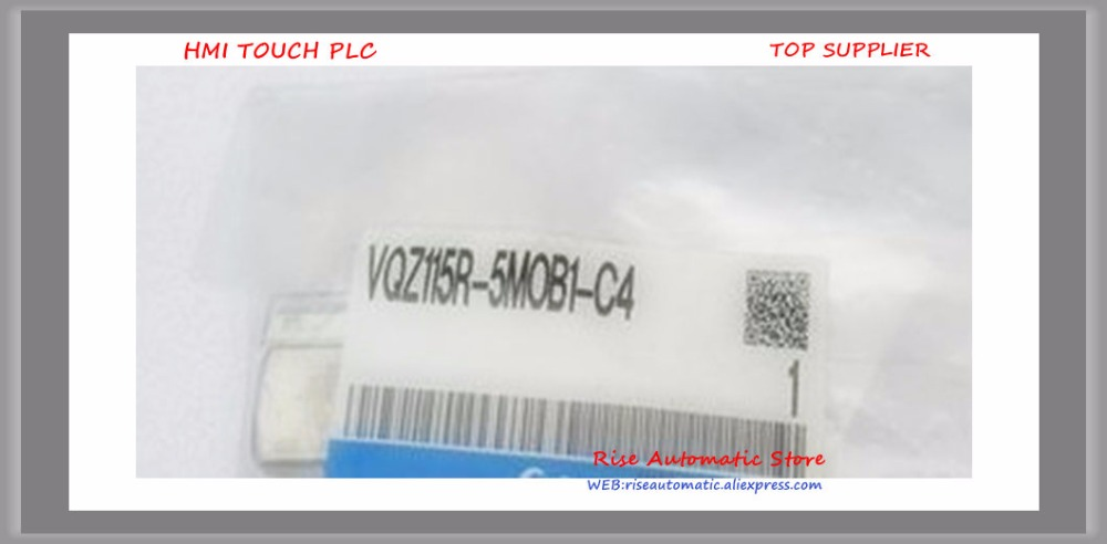 New Original Solenoid Valve VQZ115R-5MOB1-C4 vt307v 5g 02 new original authentic smc vacuum solenoid valve