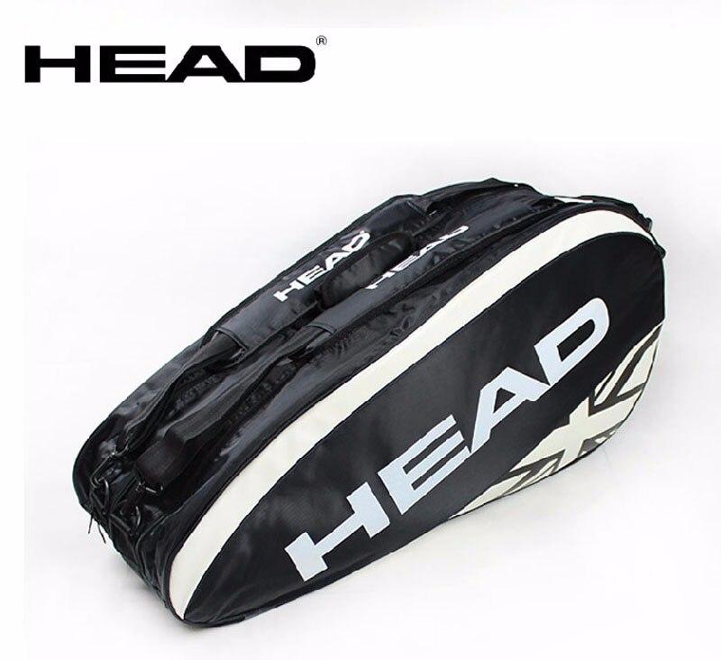 Original Head Tennis Bag Brand Tennis Racquet Bag 3 6 Piece Rackets Tennis Bag Nylon Dacron