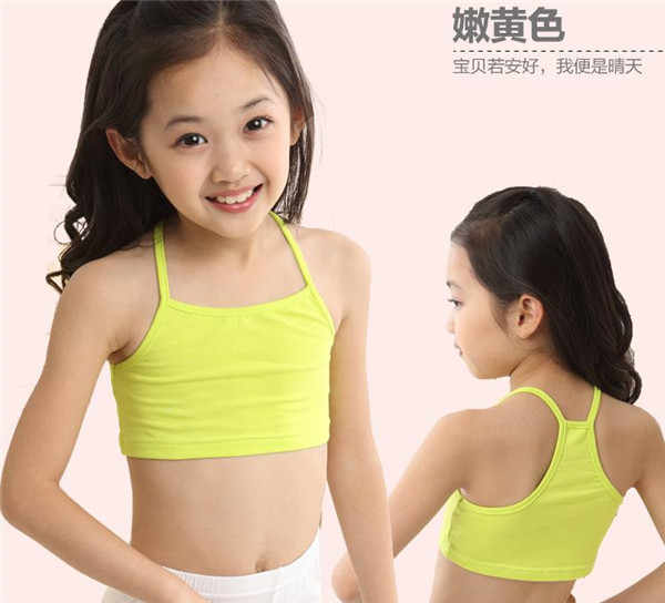 fae61d0fee08a ... Candy Color Girls Training Bra girl cotton vest child world of tank  girls underwear girls tank ...