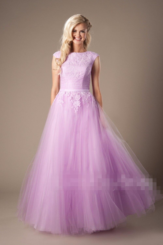 2e4f6e962776 Modest Floor Length Prom Dresses - raveitsafe