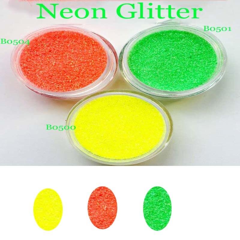 Nails Art & Werkzeuge Schönheit & Gesundheit Angemessen Mgyb-a 6 Neon Farben Fluoreszierende Nagel Glitter Pulver-hell Transparent Feine Ultra Pigment Pulver Für Nagellack