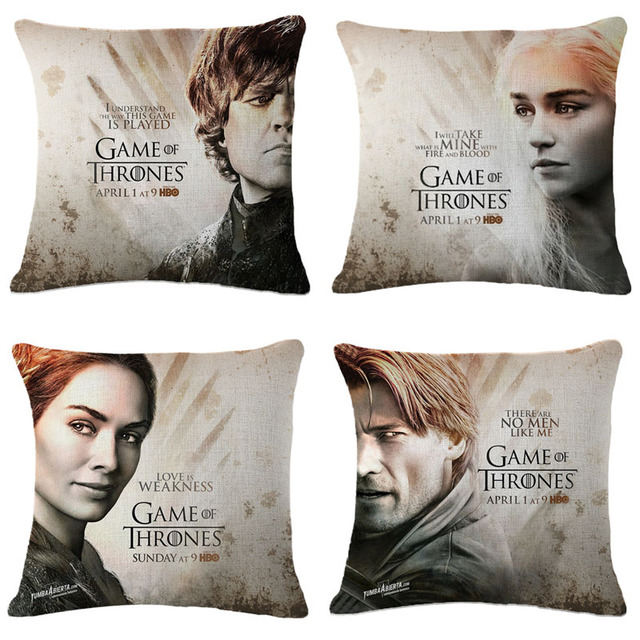 Game of Thrones Fashion Decorative Pillow Case