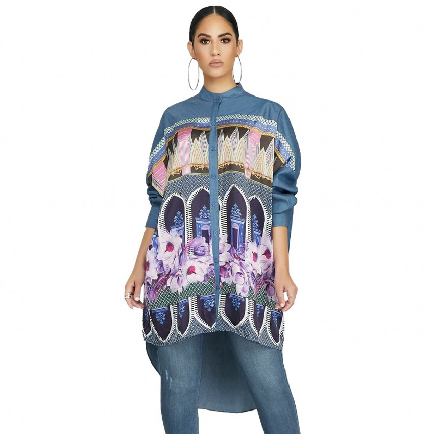 African Dresses For Women African Women CLothing Dashiki New Printed Nightclub Style One Piece Shirts Dress For Lady