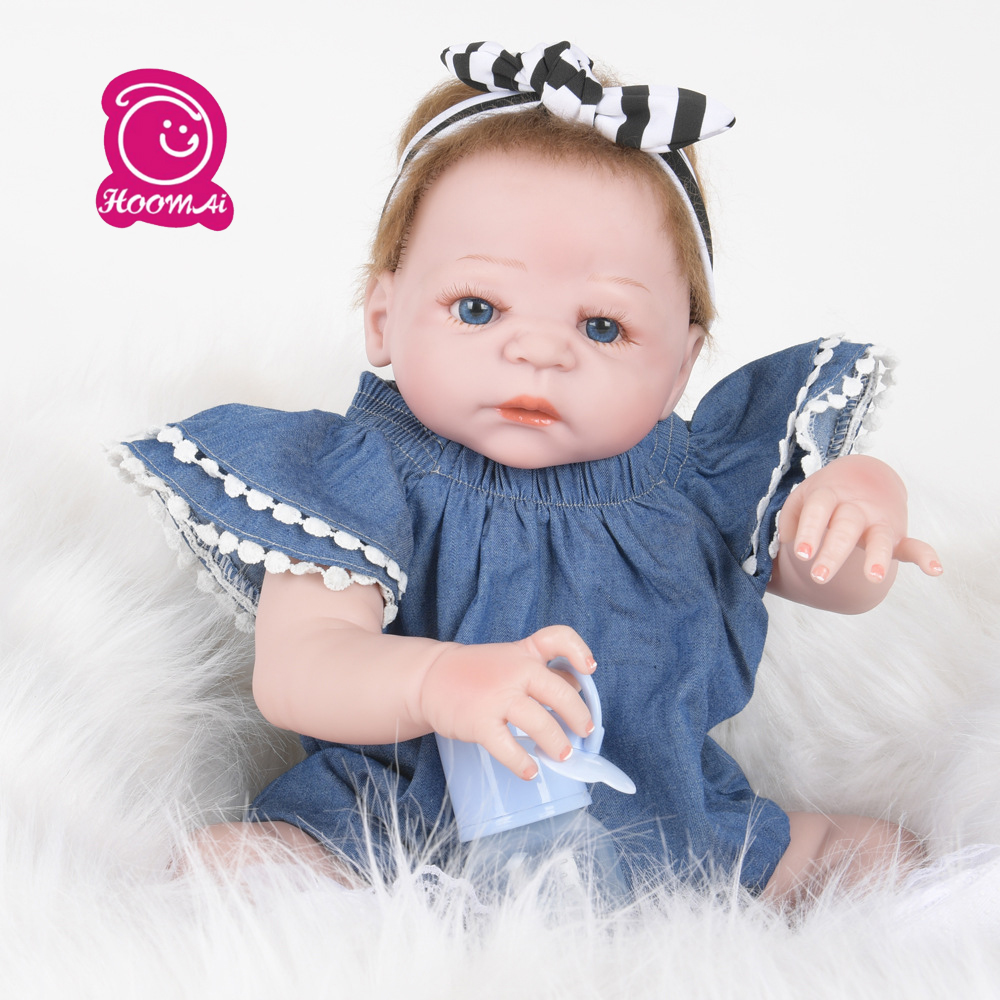 New Arrival Full Silicone  Body Reborn Baby Girl Dolls Soft Silicone Vinyl Real Gentle Touch Bebe New Born Real BabyNew Arrival Full Silicone  Body Reborn Baby Girl Dolls Soft Silicone Vinyl Real Gentle Touch Bebe New Born Real Baby