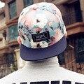 2016 мода новые цветочные регулируемая snapback шапки бейсболки для мужчин и женщин спортивные хип-хоп бейсболки