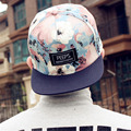 2016 fashion new floral adjustable snapback caps baseball hats for men and women sports hip hop baseball caps