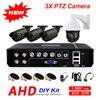 Outdoor 8CH 1080N 5 In 1 Hybrid DVR AHD 720P 4CH 1500TVL Security Camera System 3X