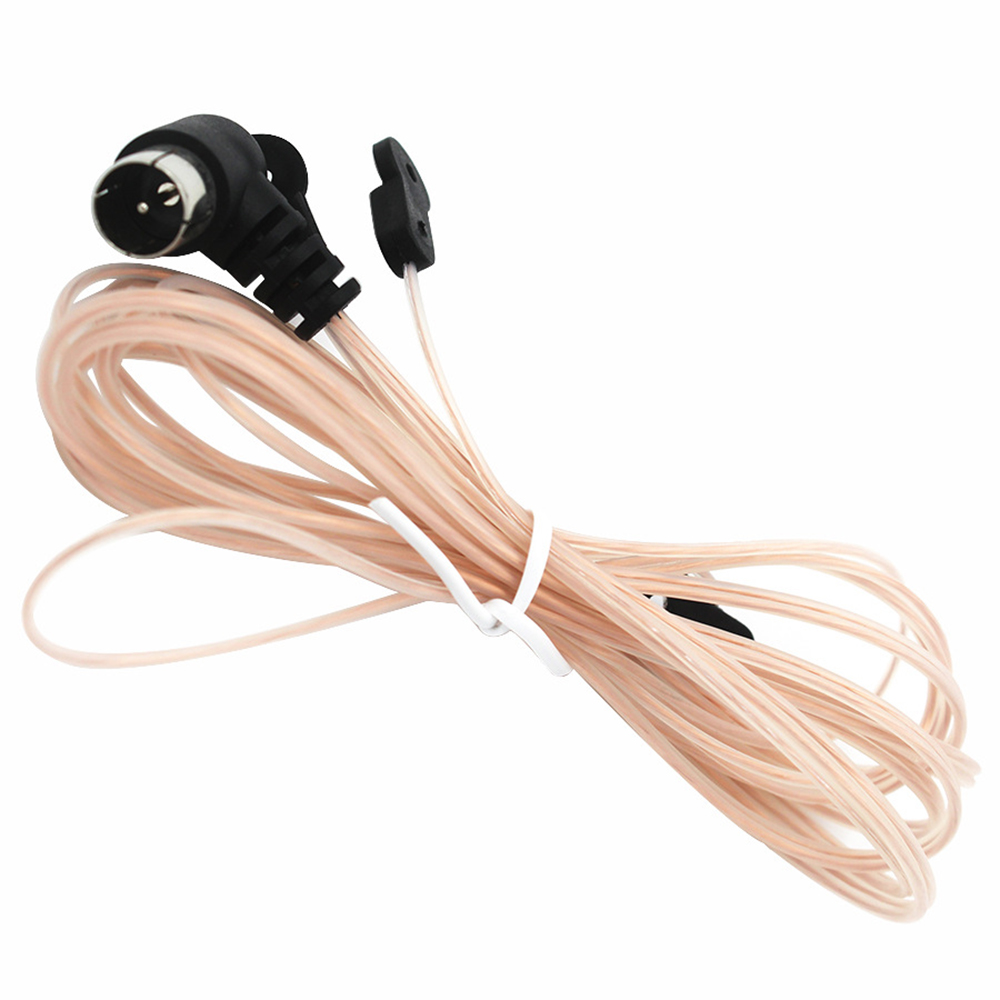 Pioneer ONKYO PAL FM Dipole Antenna etc Table Top Radio HiFi AV Stereo Receiver Mini Ancable 75 Ohm PAL Female FM Radio Coax Antenna Cable Wire for Yamaha
