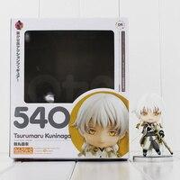 Tsurumaru Kuninaga Game Touken Ranbu Online Figure Tsurumaru Kuninaga Nendoroid 540 Mini PVC Figure Toy With