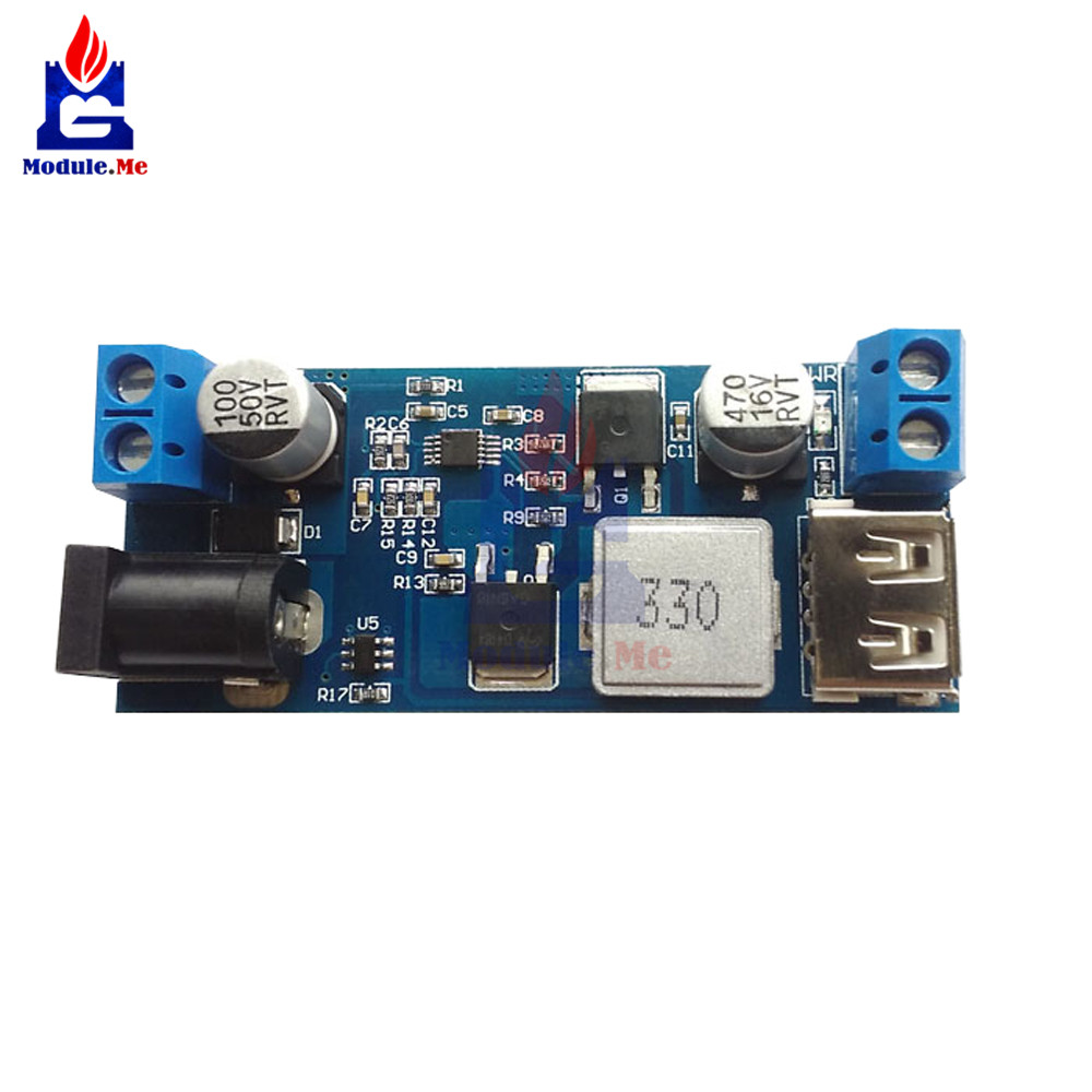 Dc 24v 12v To 5v 5a Step Down Power Supply Buck Converter Replace Simple Doubler Voltage 12 24volt Module