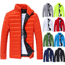 2017Excessive Quality Winter Comfortable and Warm Jacket Winter Clothes Winter Outerwear Men's Clothing Slim Cotton-padded Jacket