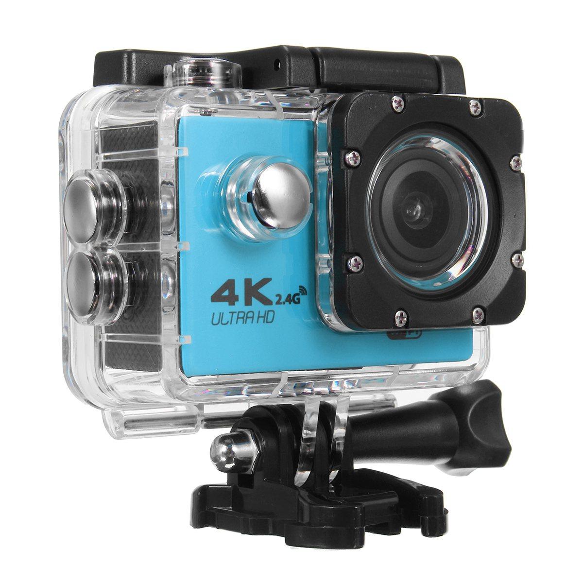 Hot Selling pro underwater waterproof Action Camera F60R Ultra HD 4K /30fps WiFi 2.0 170D go Helmet Cam Sport Consumer Camera