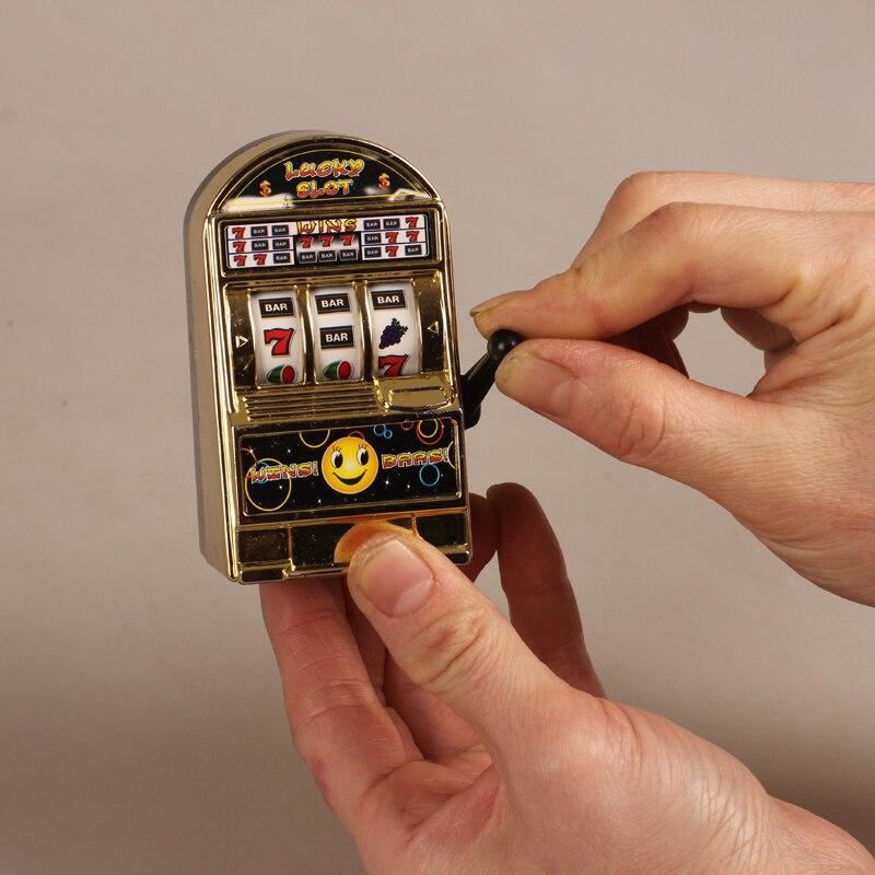 Nouveauté Gag Jouets Mini Chanceux Slot Doigt Créatif Jeux Anti-Stress Antistress Jouet edc Portable Jeu Décoration De Bureau