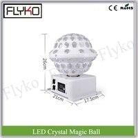 25 Вт led хрустальный магический шар 3 Вт X 6 шт. RGB световой эффект