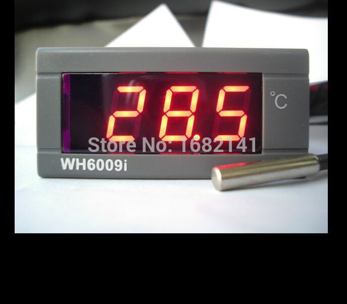 DC 24V WH6009I Electronic Water font b Digital b font Universal font b Thermometer b font
