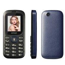 Оригинальный Celular ipro i3185 разблокирована 1.8 дюймов мобильный телефон GSM Dual SIM Bluetooth FM MP3 Русский язык сотовые телефоны телефон