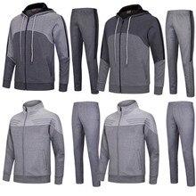 Мужские футбольные штаны, брюки, наборы футбольных тренировочных штанов, свитера, плотные футбольные куртки, Джерси, Униформа, костюмы на заказ 6626