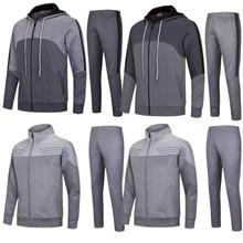 Для мужчин футбол Штаны комплекты футбольных тренировок Штаны свитера утолщаются футбол куртки Джерси униформы на заказ костюмы 6626