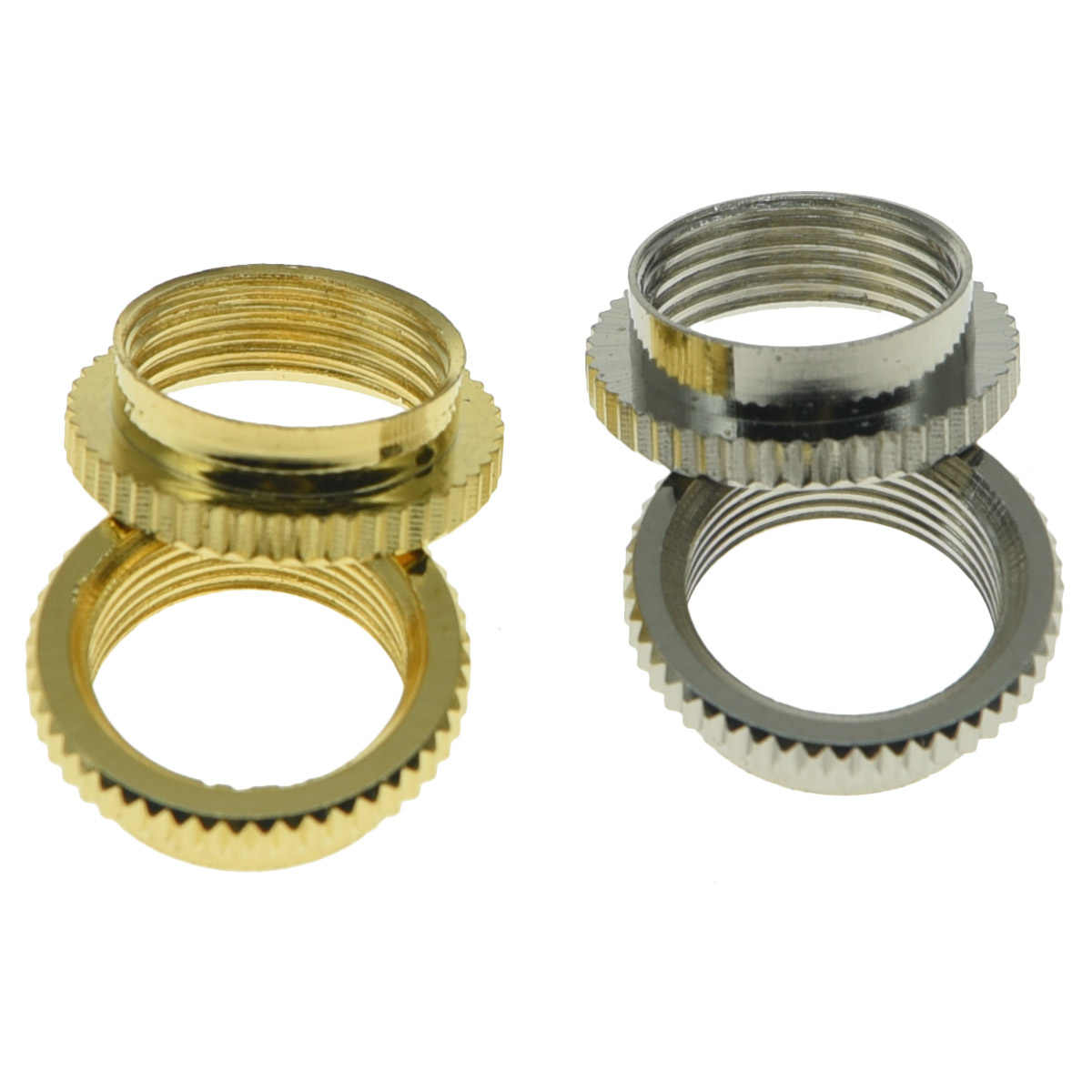 Gold Deep Nut for Switchcraft 3-way toggle switch fits GibsonEpiphone guitars