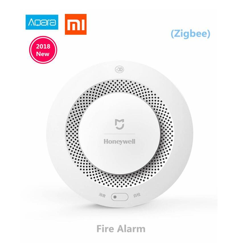 Xiaomi Mijia Honeywell détecteur d'alarme incendie sonore visuel capteur de fumée à distance Mihome APP contrôle intelligent livraison gratuite