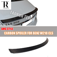 W218 CLS AMG Style Carbon Fiber Rear Trunk Spoiler for Mercedes Ben W218 CLS300 CLS350 CLS500 CLS550 CLS63 AMG 2012 2016
