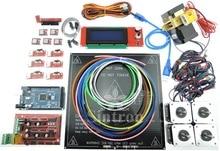 цена на [SINTRON] 3D Printer Kit RAMPS 1.4 + Mega 2560 + A4988 + Motor + Extruder RepRap