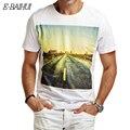 E-BAIHUI бренд летом стиль мужские футболки мужская мода хлопка футболка мужской одежды повседневная топы тис swag Футболки Camisetas Y048