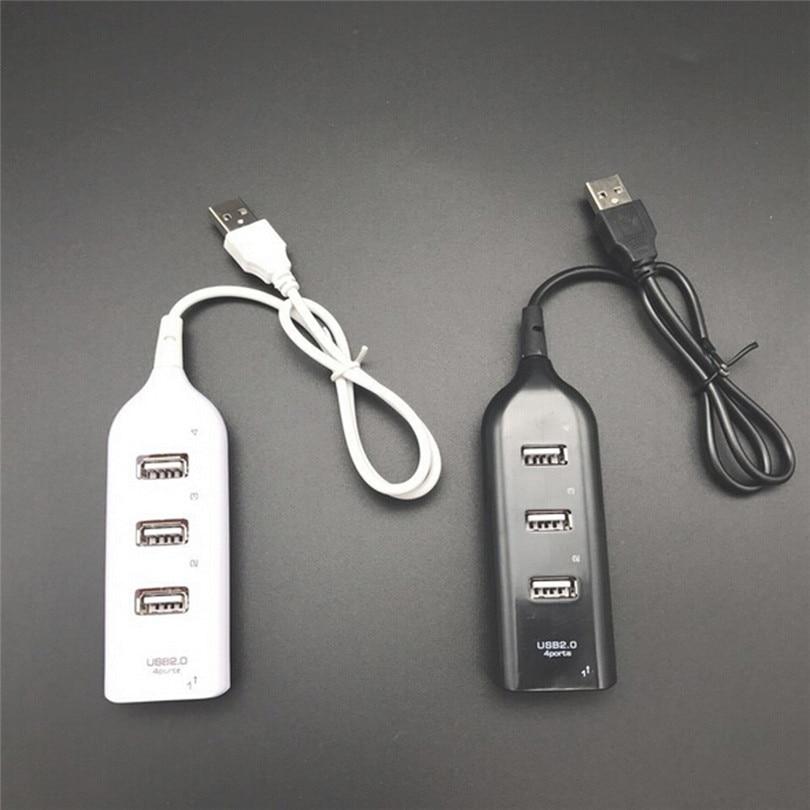 High Speed Multi HUB 4 Ports USB Splitter Expansion Desktop PC Laptop Adapter