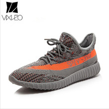 VIXLEO Casual Shoes Men Breathable Autumn Summer mesh lovers shoes brand Femme Chaussure Ultras Boosts Superstar Shoes