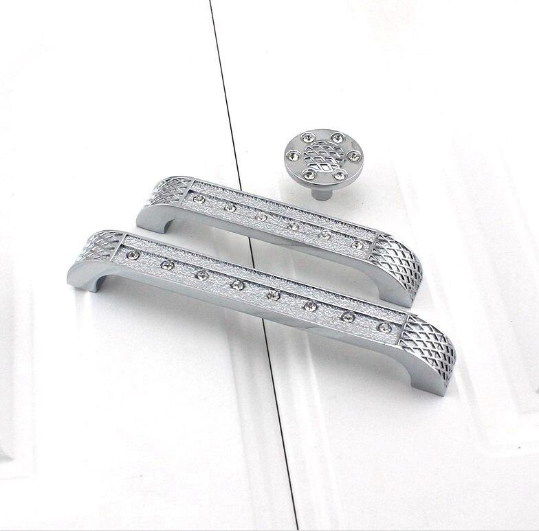 UNILOCKS классический дизайн! Прозрачная Хрустальная дверная ручка с хромированной металлической частью из цинкового сплава