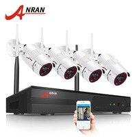 Plug And Play 4CH CCTV System 5GHz WIFI NVR Kit P2P 1080P HD IR IP Camera