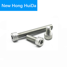 DIN912 Hex Head Socket Cap Screws Hexagon Thread Metric Machine Allen Bolt 304 Stainless Steel M4 цена в Москве и Питере