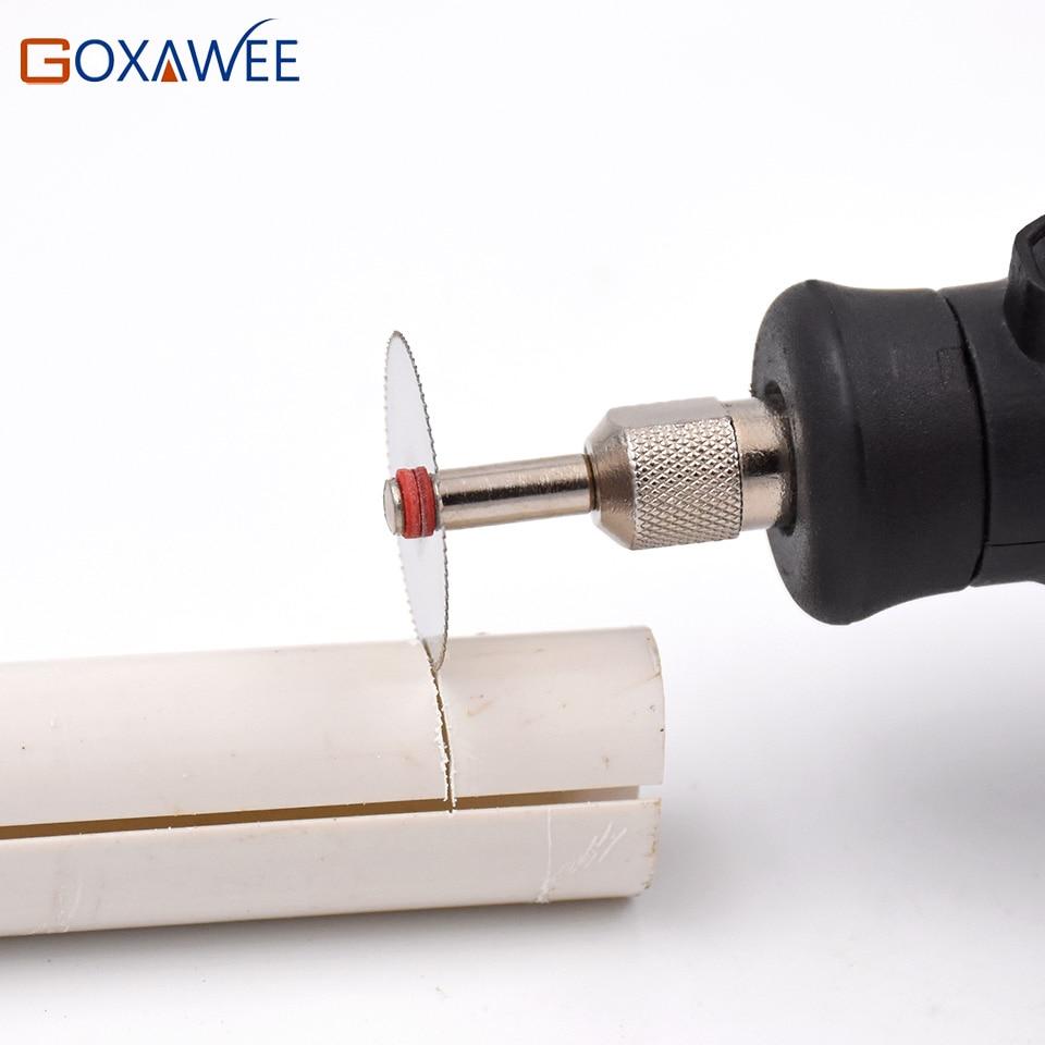 Řezací kotouče GOXAWEE Rotační nástroje Řezací kotouč pro - Brusné nástroje - Fotografie 5