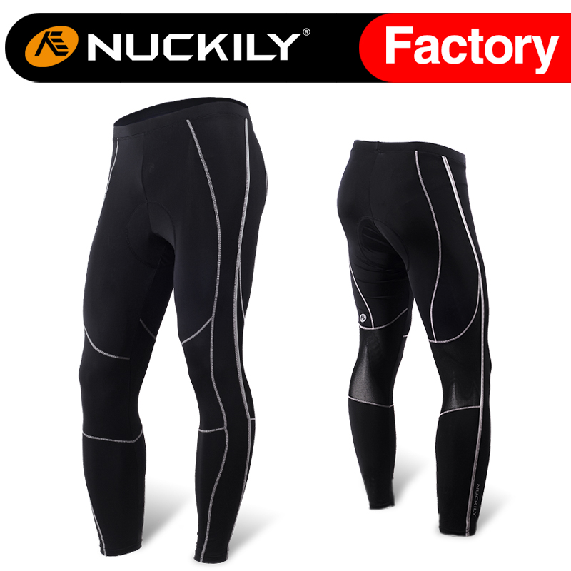 ФОТО Nuckily cycling long pant  80% Polyester 20% Spandex sportwear  MM003