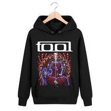 Bloodhoof Tool Progressive Metal cotton Sudadera con capucha negra, talla asiática, hombre