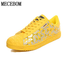 2016 new fashion autumn men's casual shoes canvas breathable flats yellow/blue 6 color Hombre sapato masculin size 39-44 LAx5M
