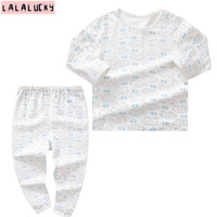LALALUCKY New Born Baby Clothes Boy Clothing Set Baby S Underwear Sets Clothes For Gril Long