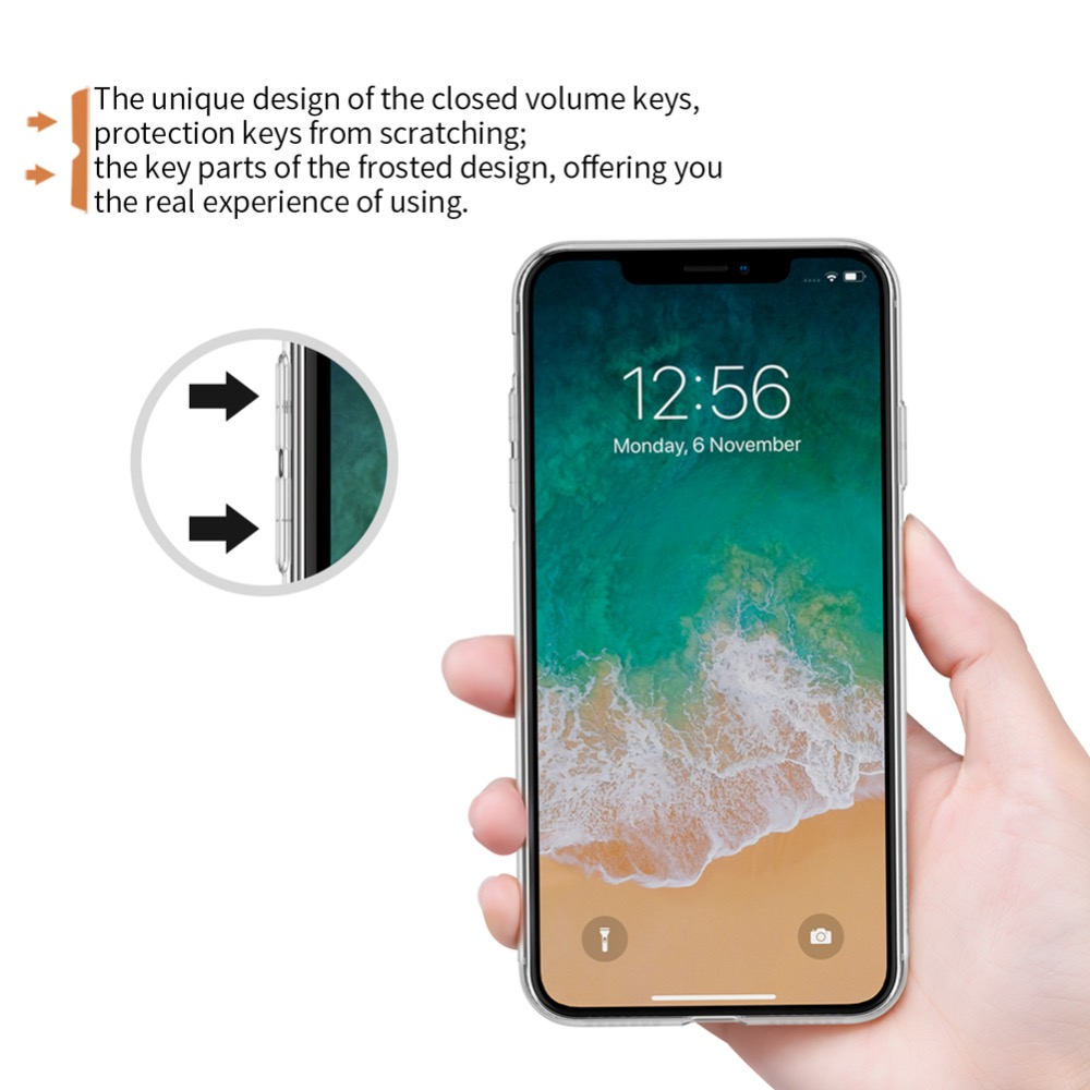 For iPhone XR Case Nillkin Nature Series Transparent Clear Casing Soft TPU Case For iPhone 11 For iPhone XR Case Nillkin Nature Series Transparent Clear Casing Soft TPU Case For iPhone 11 Pro Xs Max XR 6 6S 7 8 Plus Cover