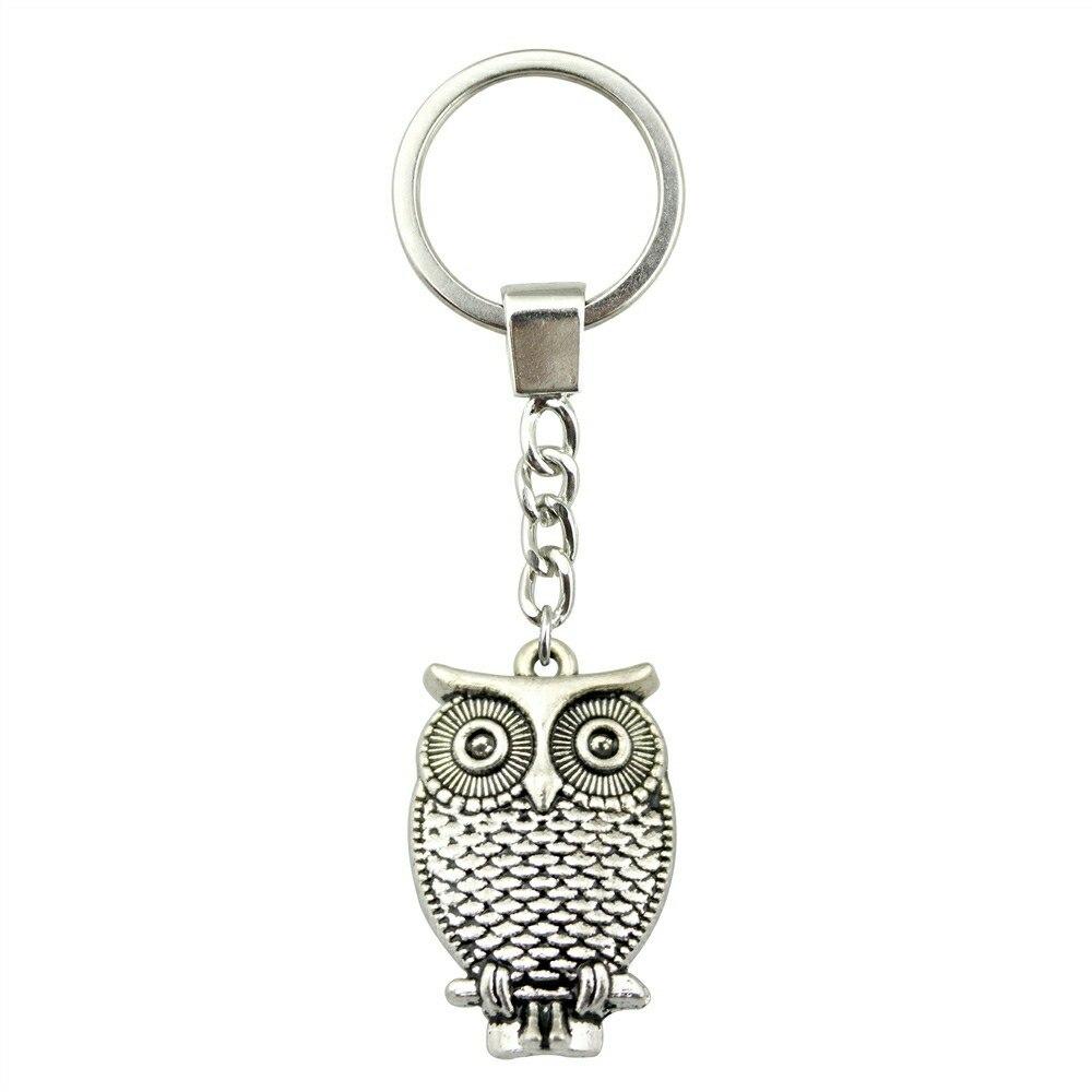 WYSIWYG Men Jewelry Key Chain, New Fashion Metal Key Chains Jewelry, Vintage Owl Key Rings костюм key fashion