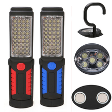 Super Bright LED Flashlight Work Light USB Rechargeable Outdoor Portable Camping Tent Lamp Magnetic Hook Mobile