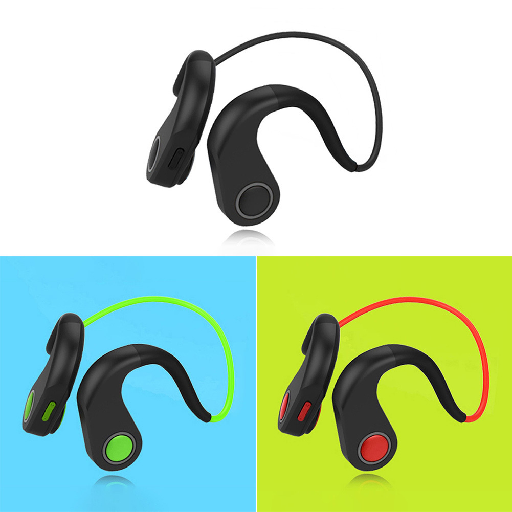 BT_DK Integrated Bluetooth Bone Conduction Headset Headphone Earphone with NFC Function Waterproof Earphone e 3lue ebt922 nfc bluetooth headset black