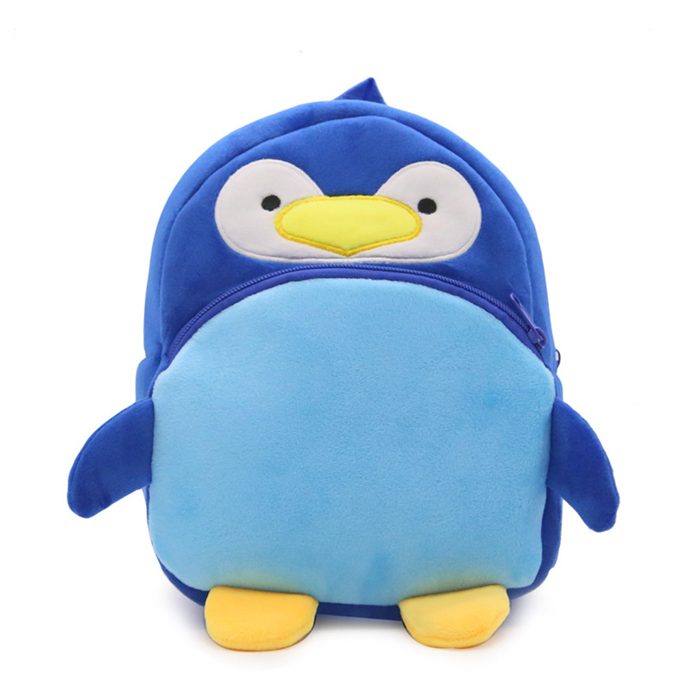 Zshop Cute Penguin Schoolbag for Kids 1 to 3 Year Old Children Backpack Birthday Gifts