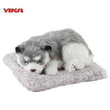 2017 New Product Car-styling 24CM Mini Plush Toy Animal Modelling Ornaments Car Air Freshener Bamboo Charcoal Include Husky  Mig