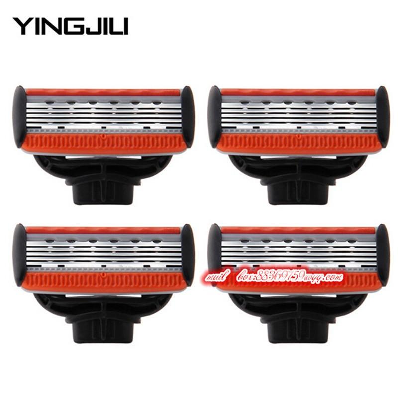 YINGJILI-4pcs-Set-Men-Razor-Blades-Shavings-5-Layers-Shaver-Blades-for-Male-Face-Shaving-Blade (1)
