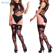 Sexy Lingerie hot Bodysuit Sexy Costumes Intimates Women Bodystocking open crotch sex products  erotic lingerie Chemises qq172