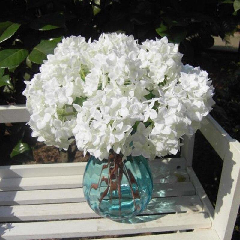 silk white hydrangea - White Hydrangea