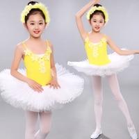 New Ballet Costumes For Girls Child Swan Lake Dance Dress Ballerina Dresses Girls Tutu Gymnastics Leotard